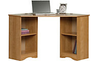 Sauder Beginnings Highland Oak Corner Desk