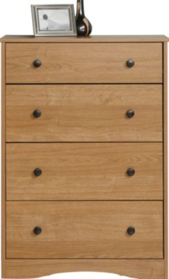 Sauder Beginnings Highland Oak Chest