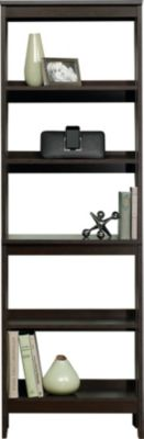 Sauder Beginnings Cinnamon Cherry 5-Shelf Bookcase