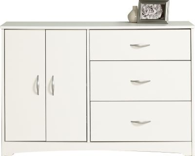 Sauder Beginnings White Dresser