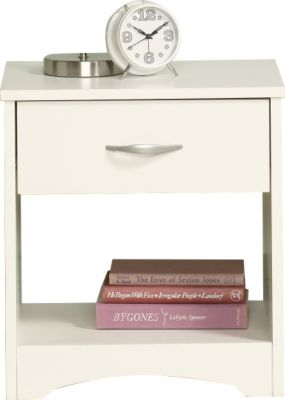 Sauder Beginnings White Nightstand