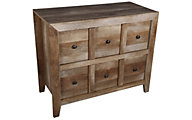 Sauder Dakota Pass Oak Console