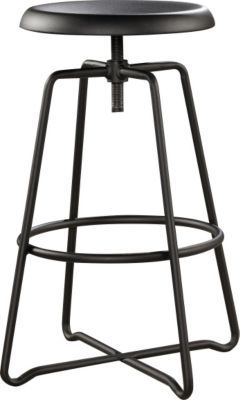 Sauder Carson Forge Metal Counter Stool