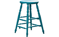 Sauder Cottage Road Blue Counter Stool