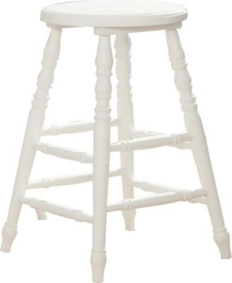 Sauder Cottage Road White Counter Stool