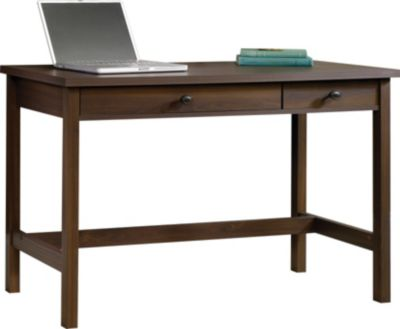 Sauder County Line Walnut Writing Desk