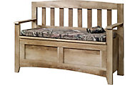 Sauder East Canyon Storage Bench