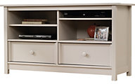Sauder Original Cottage Cream Entertainment Credenza
