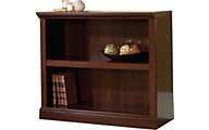 Sauder Select 2-Shelf Cherry Bookcase