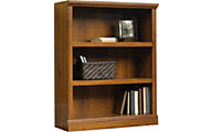 Sauder Select 3-Shelf Oak Bookcase