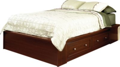 Sauder Palladia Queen Platform Storage Bed