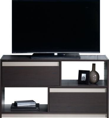 Sauder Square 1 Carbon Ash TV Stand