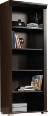 Sauder Select 5-Shelf Jamocha Wood Bookcase