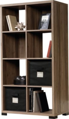 Sauder Select 8-Shelf Salt Oak Bookcase
