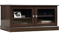 Sauder Select Cinnamon Cherry TV Stand