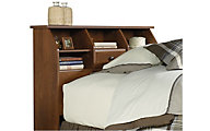 Sauder Shoal Creek Twin Bookcase Headboard