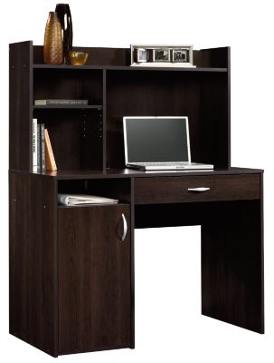 Sauder Beginnings Computer Desk with Hutch