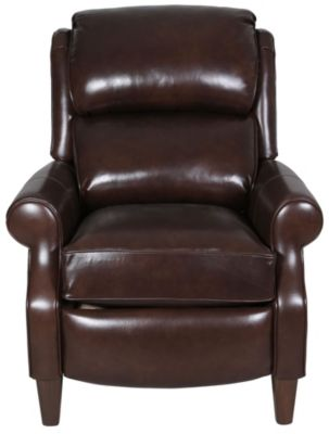 Smith Brothers 503 Collection 100% Leather Press-back Recliner
