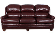 Smith Brothers 311 Collection 100% Leather Sofa