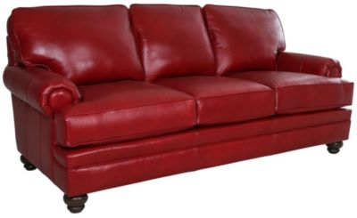 Smith Brothers 5000 Collection 100% Leather Sofa