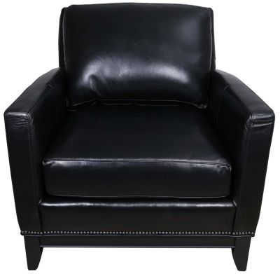 Smith Brothers 238 Collection 100% Leather Chair