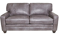 Smith Brothers 5000 Collection 100% Leather Mid Sofa