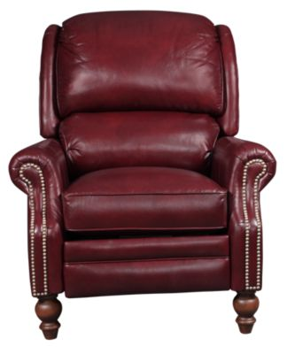 Smith Brothers 705 Collection 100% Leather Recliner