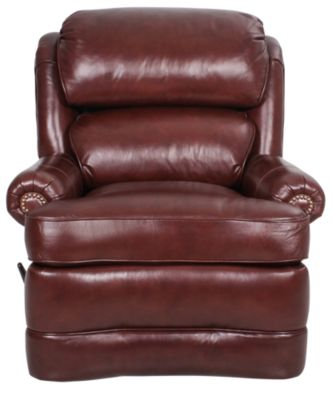 Smith Brothers Style 412 100% Leather Recliner