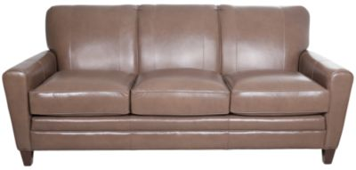 Smith Brothers 225 Collection 100% Leather Sofa
