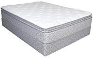 Serta Five Star Mattress Claymore Pillow Top Full Set