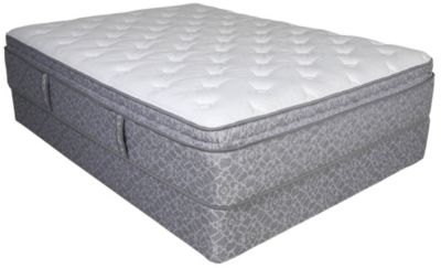 Serta Five Star Mattress Abbydale Pillow Top Full Set