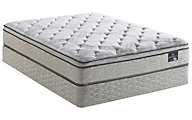 Serta Mattress Elmfield Plush Euro Top Twin Mattress Only