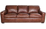 Simon Li J350 Collection 100% Leather Sofa