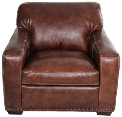 Simon Li J350 Collection 100% Leather Chair