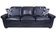 Simon Li Kedida & Quiver 100% Leather Sofa