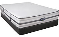 Simmons Beautyrest Hybrid Travaldo Plush Queen Mattress Only