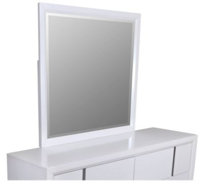 Simmons Buckhead White Mirror