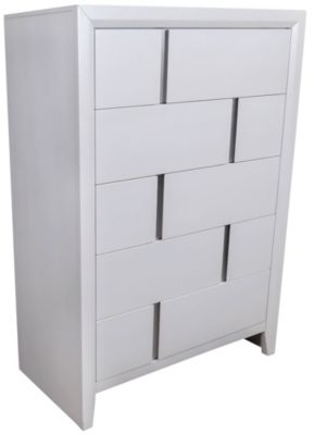 Simmons Buckhead White Chest