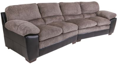 Simmons 8072 Collection 2-Piece Sectional
