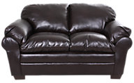 Simmons 5045 Collection Bonded Leather Loveseat