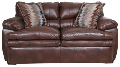 Simmons 9545 Collection Bonded Leather Loveseat