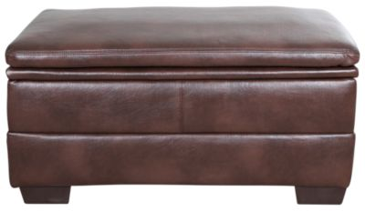 Simmons 9545 Collection Bonded Leather Storage Ottoman