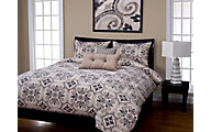Sis Covers Sumatra Graphite 6 Piece Queen Duvet Set