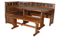 Sunny Designs 5 Piece Oak Nook Set