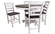 Sunny Designs Bourbon County Counter Table & 4 Stools