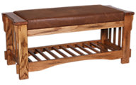 Sunny Designs 2237 Collection Cushion Bench