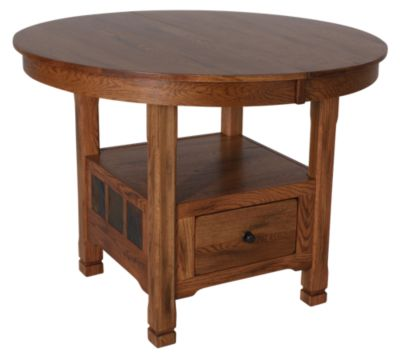 Sunny Designs Sedona Rustic Oak Counter Table
