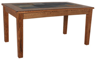 Sunny Designs Sedona Slate Accented Dining Table