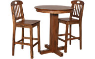 Sunny Designs Sedona Pub-Height 3-Piece Oak Dining Set