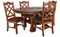 Sunny Designs Sedona 5-Piece Round Dining Set